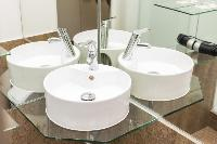 fresh and clean bathroom in Vienna - Apartment 8 luxury vacation rental and holiday home