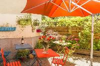 awesome garden terrace of Vienna - Apartment 8 luxury vacation rental and holiday home