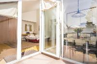 cool doors to the terrace of Vienna - Apartment 1 luxury holiday home and vacation rental