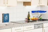 delightful kitchen of Vienna - Apartment 1 luxury holiday home and vacation rental
