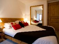 lovely bedroom in French Alps - Chalet Le Passeu luxury apartment