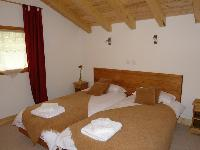 cozy bedroom in French Alps - Chalet Le Passeu luxury apartment