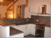 homey and hearty kitchen of French Alps - Chalet Le Passeu luxury apartment