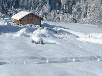 wonderful exterior of French Alps - Chalet Le Passeu luxury apartment
