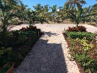 amazing garden of Bahamas - Sand Castle Exuma luxury apartment