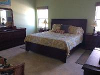 clean bedroom linens in Bahamas - Sand Castle Exuma luxury apartment