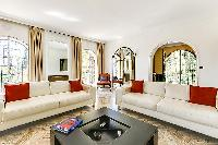 exquisite living room of Cannes - Palm Spring Villa luxury apartment