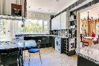 awesome contemporary kitchen of Cannes - Palm Spring Villa luxury apartment