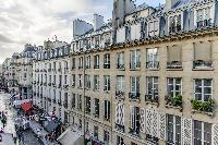 Montorgueil an active neighborhood in central Paris