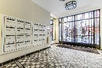 entrance to Paris luxury apartment