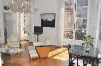 nice living room of Saint Germain des Prés - Jacob 5 luxury apartment