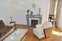 cozy sitting room of Saint Germain des Prés - Jacob 5 luxury apartment
