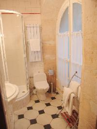 fresh and clean bathroom in Paris - Saint André des Arts 1 luxury apartment