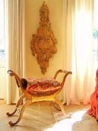 cute furniture in Saint Germaine des Prés aux Clercs luxury apartment