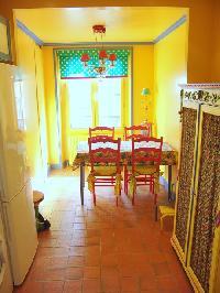 nice dining room of Saint Germaine des Prés aux Clercs luxury apartment
