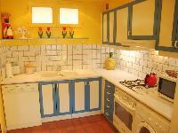 cool kitchen in Saint Germaine des Prés aux Clercs luxury apartment
