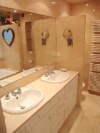 nice bathroom in Saint Germaine des Prés aux Clercs luxury apartment