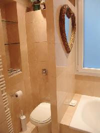 neat lavatory in Saint Germaine des Prés aux Clercs luxury apartment