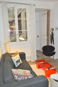 nice living room of Paris - Saint Paul 3 SP3 luxury apartment