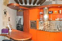 fantastic modern kitchen of Paris - Saint Paul 3 SP3 luxury apartment