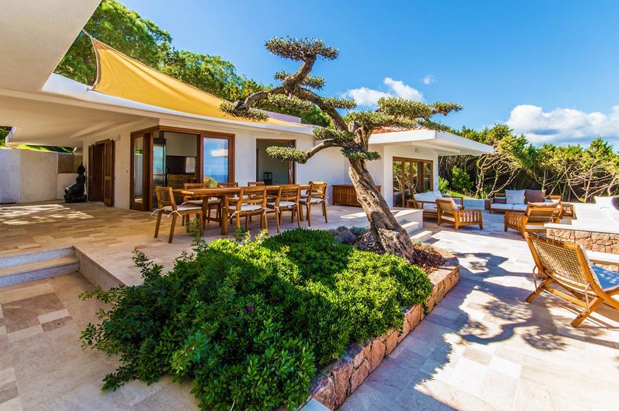 impressive patio of Sardinia - Villa Rest luxury apartment