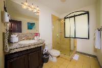 fresh and clean bathroom in Costa Rica - Casa Patron luxury apartment and holiday home