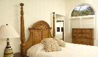 clean and fresh bedroom linens in Costa Rica - Harmon Estate luxury apartment and holiday home