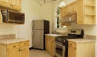 modern kitchen appliances in Costa Rica - Harmon Estate luxury apartment and holiday home