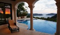 beautiful swimming pool of Costa Rica - Casa Puesta del Sol luxury apartment and holiday home