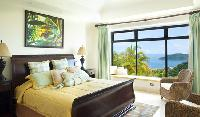clean and fresh bedroom linens in Costa Rica - Casa Puesta del Sol luxury apartment and holiday home