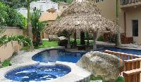 splendid swimming pool of Costa Rica - Casa Oasis luxury apartment