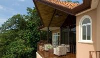 cool terrace with patio furniture at Costa Rica - Casa Pacifica luxury apartment and holiday home