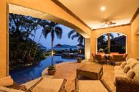 fabulous lanai of Costa Rica - Villa La Perla luxury apartment and holiday home