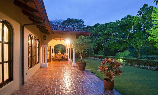impressive exterior of Costa Rica - Casa Campana luxury apartment and holiday home