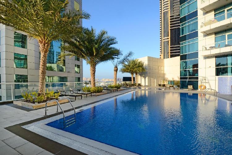 beautiful Dubai - Luxury Studio Apartment Botanica holiday home