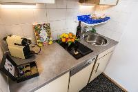 modern kitchen appliances in Vienna - Apartment 2 with Private Terrace luxury holiday home and vacat