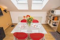 delightful dining area in Vienna - Apartment 3 Attic luxury holiday home and vacation rental