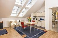 awesome slanted windows of Vienna - Apartment 4 Bright Studio luxury holiday home and vacation renta