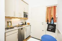cool modern kitchen of Vienna - Apartment 6 luxury holiday home and vacation rental