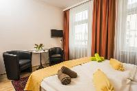 pristine bed sheets and pillows in Vienna - Apartment 6 luxury holiday home and vacation rental