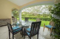 pretty patio of Costa Rica Colina 4F luxury apartment