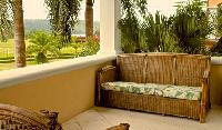 pretty terrace with patio furniture at Costa Rica Colina 5D luxury apartment