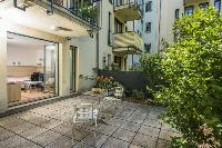 cool courtyard of Vienna - Apartment R02 with Terrace luxury vacation rental and holiday home