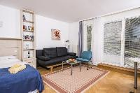 delightful sitting area in Vienna - Apartment R02 with Terrace luxury vacation rental and holiday ho