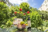 cool blooms and foliage at Vienna - Apartment H03 with Garden luxury vacation rental and holiday hom