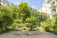 cool foliage and blooms at Vienna - Apartment H03 with Garden luxury vacation rental and holiday hom