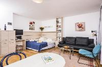 delightful living room of Vienna - Apartment H03 with Garden luxury vacation rental and holiday home