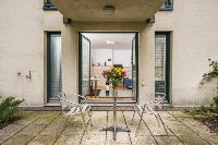 delightful patio of Vienna - Apartment H03 with Garden luxury vacation rental and holiday home