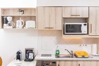 cool modern kitchen of Vienna - Apartment H03 with Garden luxury vacation rental and holiday home
