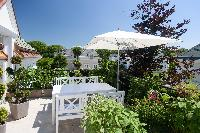 pretty garden terrace of Vienna - Golf Apartment luxury vacation rental and holiday home